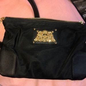 Juicy couture nylon Lou Lou black crossbody